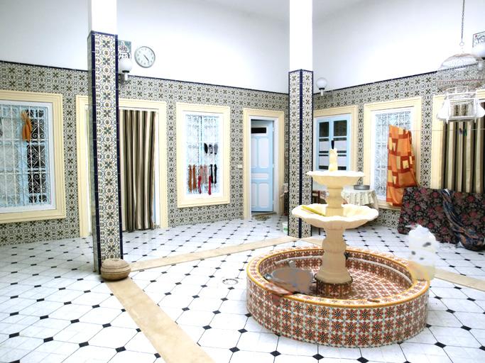 Maison arabe fonctionnelle for Architecture maison arabe