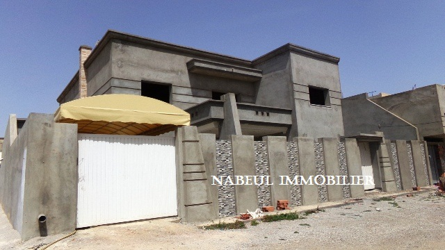 Villa neuve a beni khiar for Budget construction maison tunisie